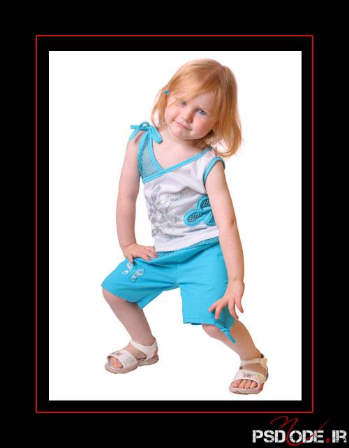 www.psdmode.ir .10 فیگور کودک