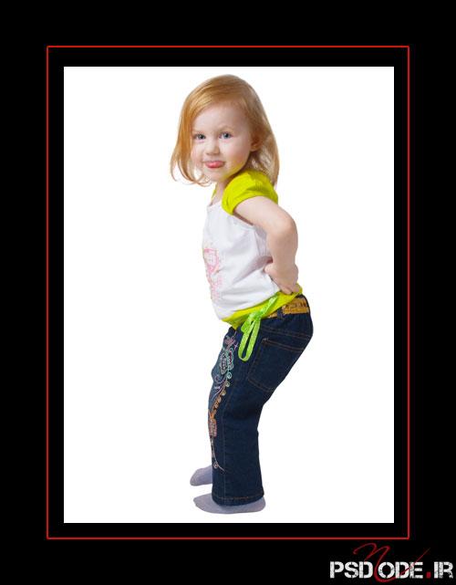www.psdmode.ir .5 فیگور کودک