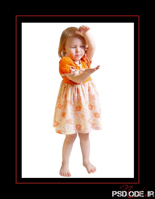 www.psdmode.ir .9 فیگور کودک