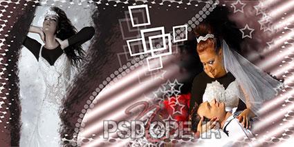 آلبوم دیجیتال 2عروس وداماد1 فون عروس و داماد
