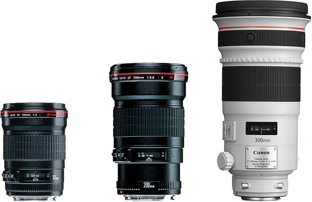 canon telephoto lenses لنز دوربین