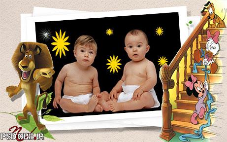 کودک4 دانلودفون کودک با شخصیت کارتونی