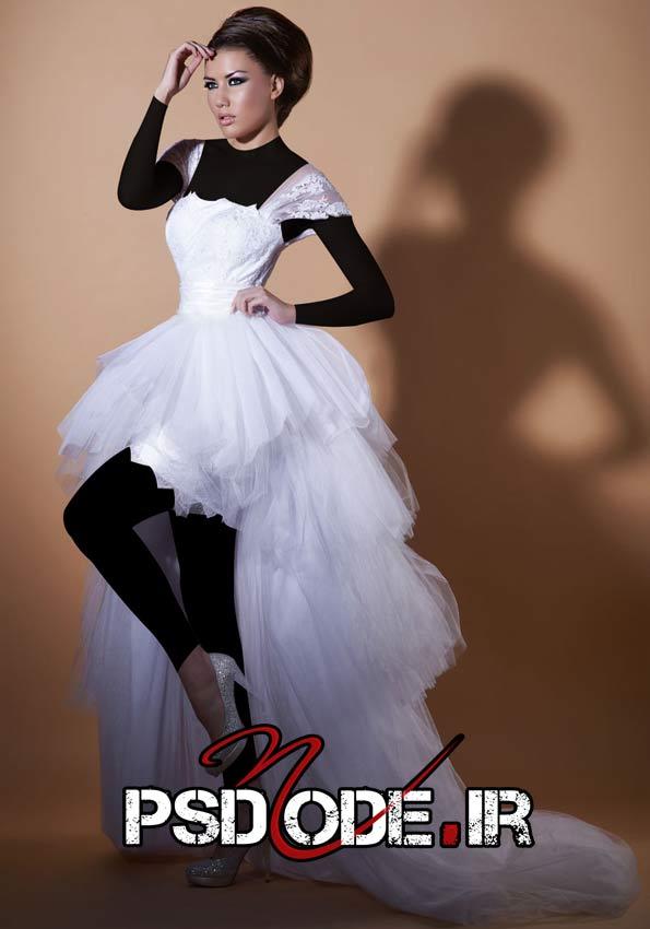 لباس عروس فیگور عکس