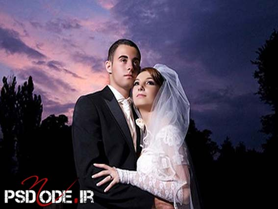 ژست عروس و دامادwww.psdmode.ir