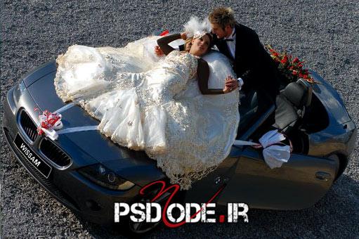 عکس-عروس-و-داماد-در-آتلیه www.psdmode.ir