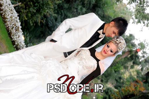 عکس-عروس-و-داماد-عاشقانه  www.psdmode.ir