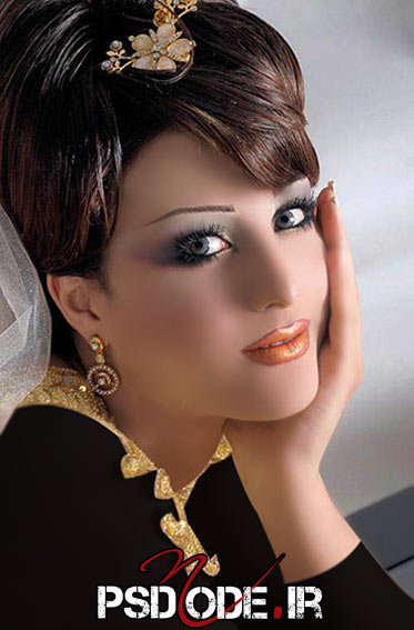فیگور عروس مدل مو