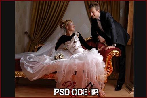 فیگور عکس ژست عروس و داماد