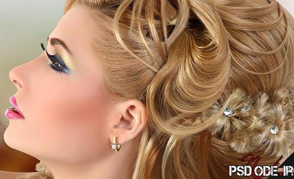 مدل موی عروس1 میکاپ
