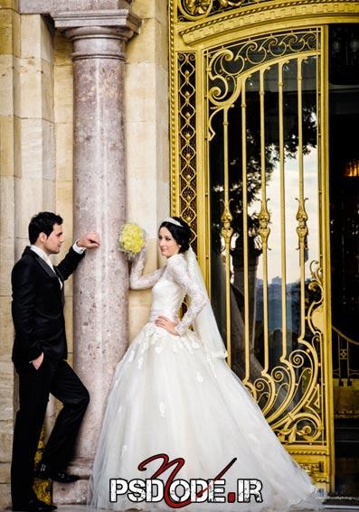 عکس ضایع عروس و داماد