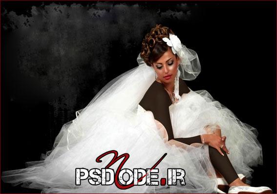 ژست عروسی مدلینگ فیگور عروس