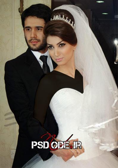 عکس های عروس و داماد قشنگ
