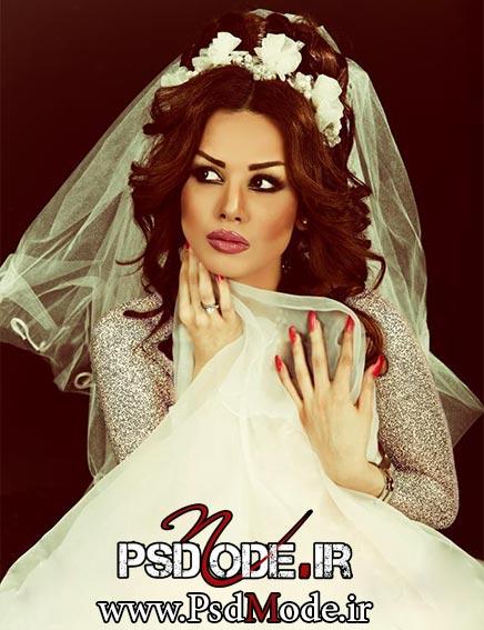 عروس در آتلیه فیگور عکاسی