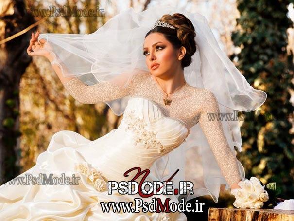 عکس فتوشاپ عروس موی عروس