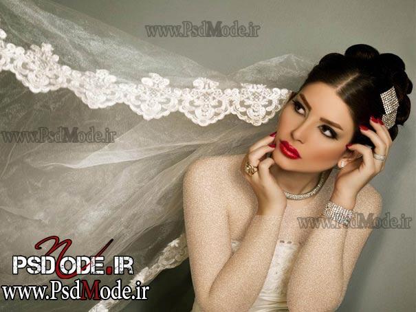 مدل مو عروس موی عروس