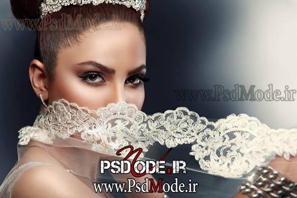 فیگور عروس در آتلیه ژست عکاسی
