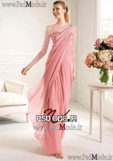 لباس-صورتی-مجلسی www.psdmode.ir