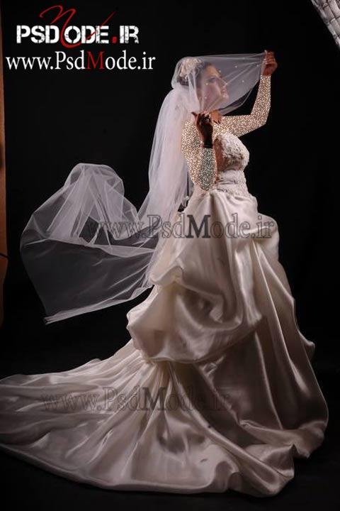 عکس آتلیه ای عروس فیگور عروس