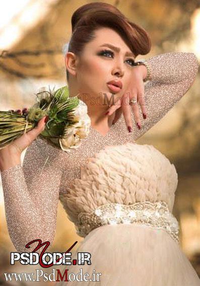 ژست عروس فیگور عروس