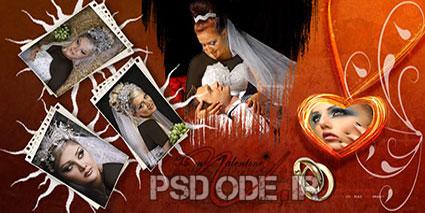 آلبوم دیجیتال عروس داماد