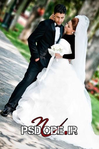 عکس-عروس-و-داماد  www.psdmode.ir