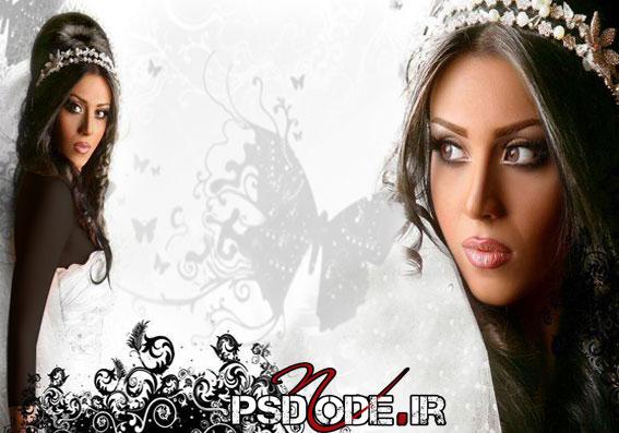 میکاپ-عروس www.psdmode.ir