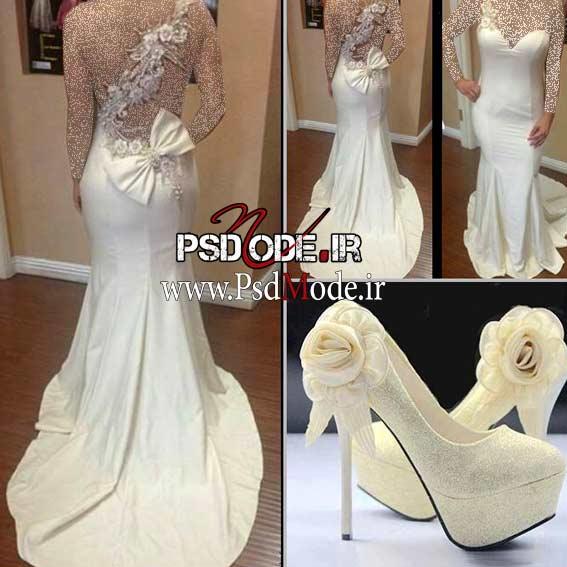 لباس-عروس-نامزدیwww.psdmode.ir
