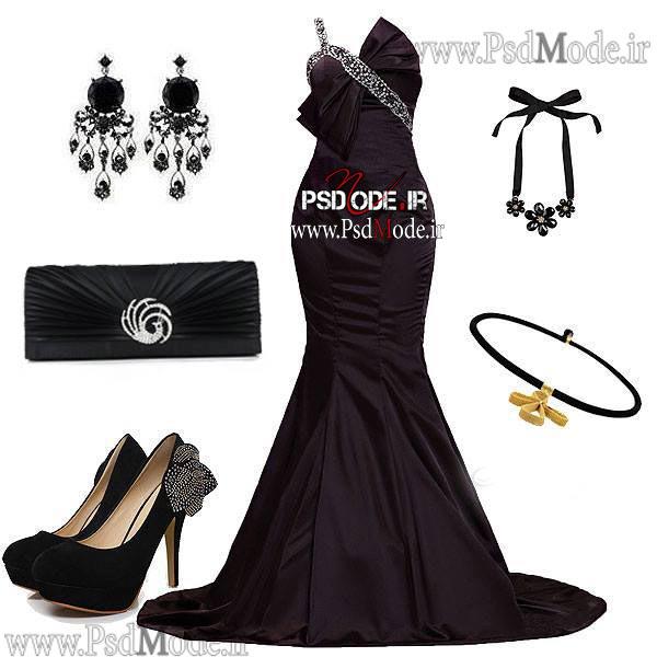 لباس-مشکی-زیبا-شب