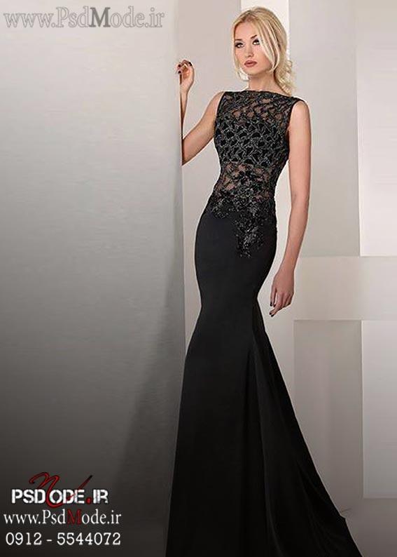 لباس-سیاه-شب-شیک