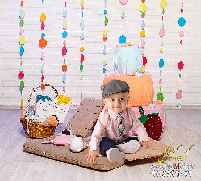 دکور آتلیه عکس کودک