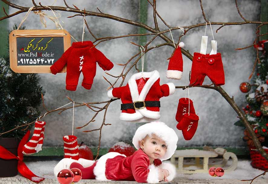 دانلود بک گراند دکور کریسمس